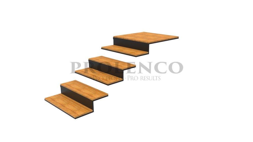 מדרגות מרחפות E220.1155