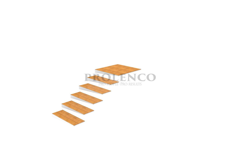 מדרגות מרחפות E540.106