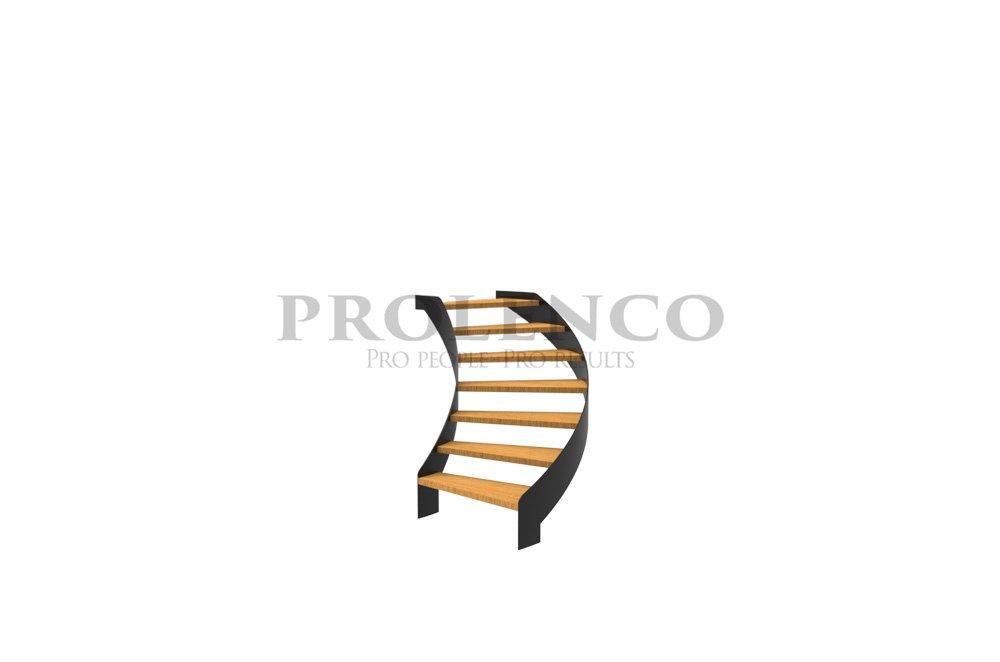 מדרגות ספירלה דגם S100 Class