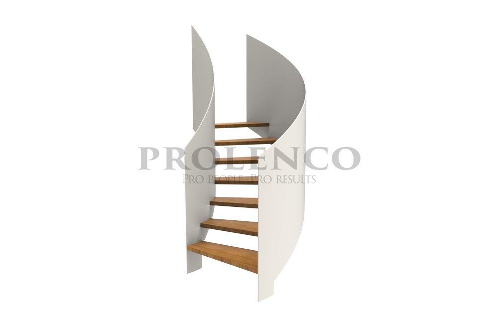 מדרגות ספירלה דגם S100 Class Tall
